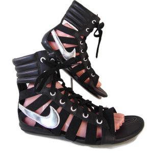 Nike Gladiator Gladiateur II Sandals 9 2011 Black